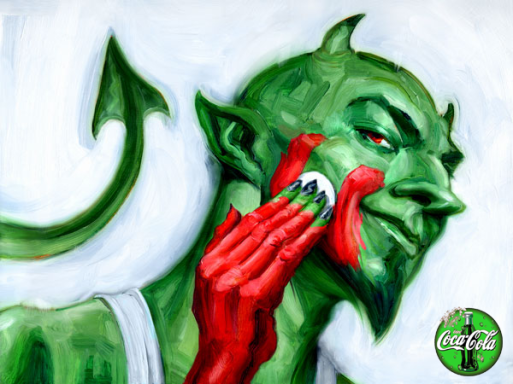 Greenwash devil