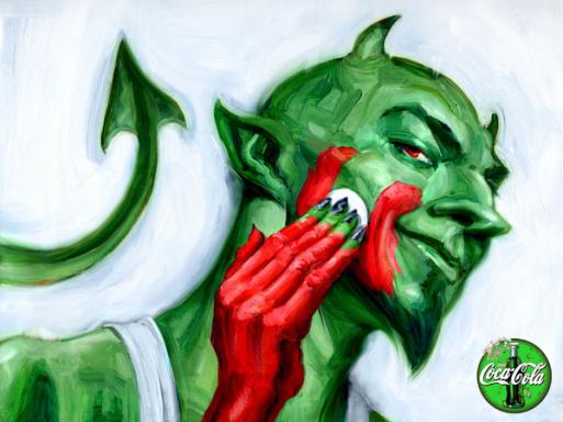 Greenwash devil
